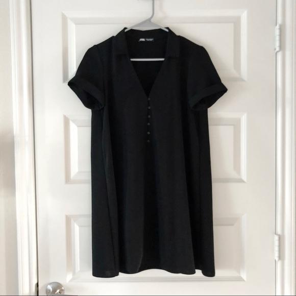 Zara Dresses & Skirts - 🌟NWOT🌟 Zara Collared Mini Dress